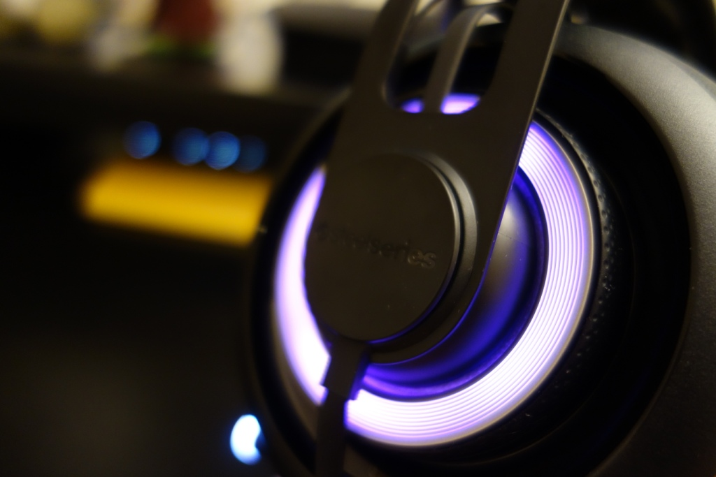 SteelSeries Siberia Elite Prism - Illumination