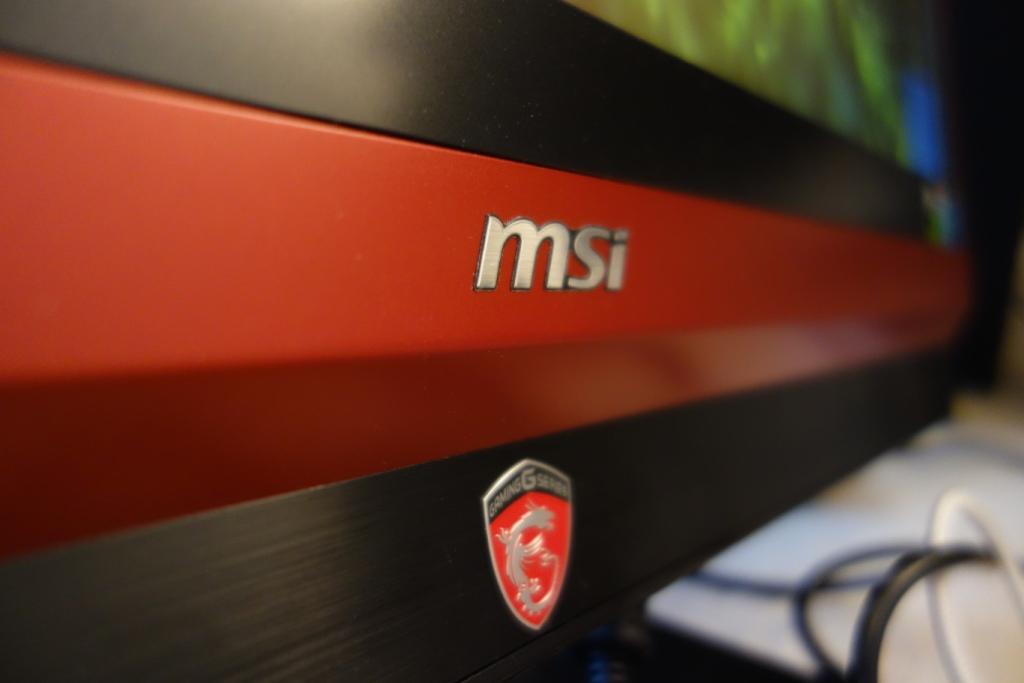 MSI 24GE 2QE - MSI Logo