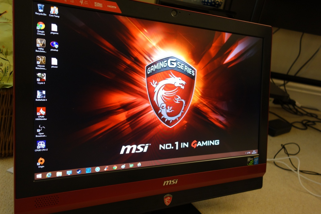 MSI 24GE 2QE - Design
