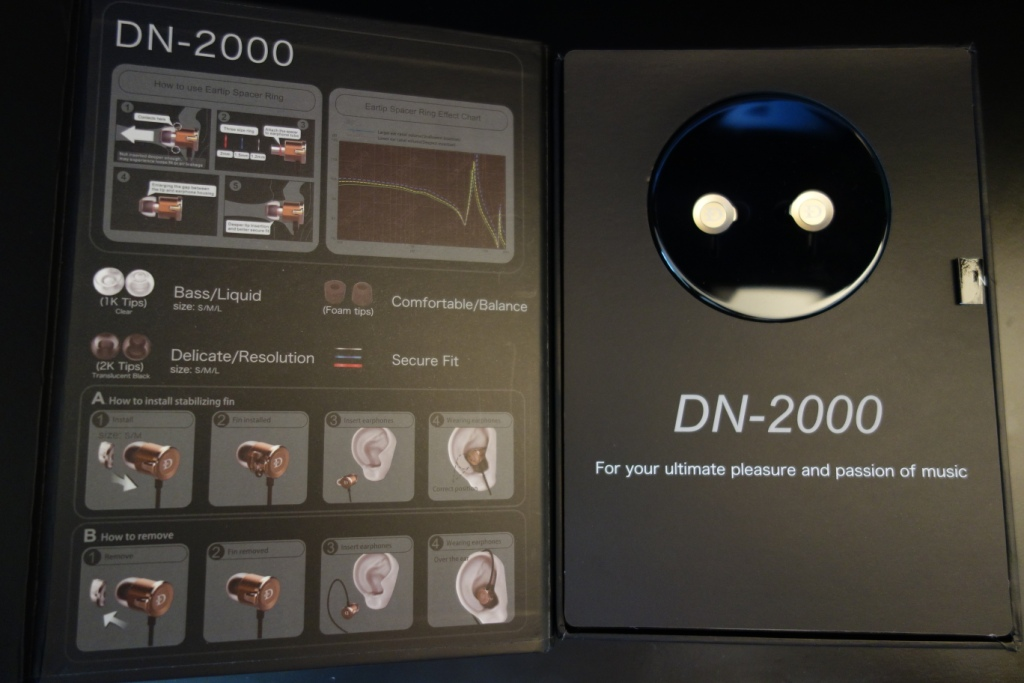 DUNU DN-2000 - Packaging