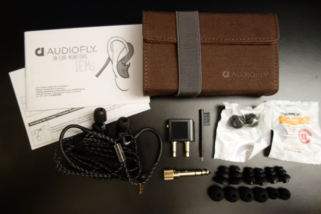 Audiofly AF120 - Package Contents