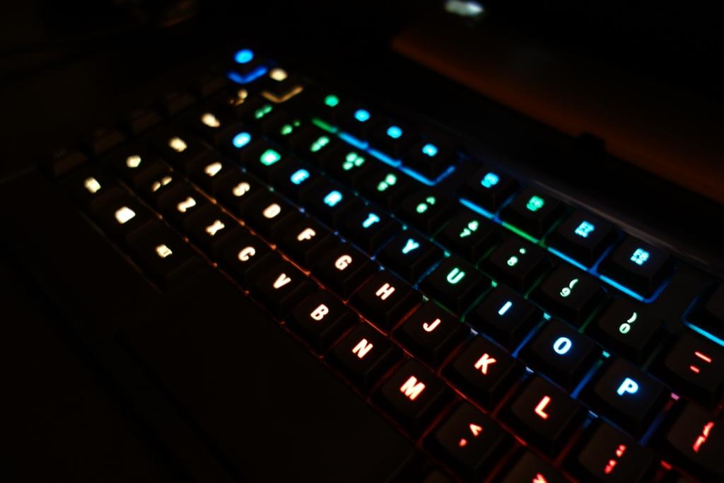 SteelSeries Apex M800 - Lights