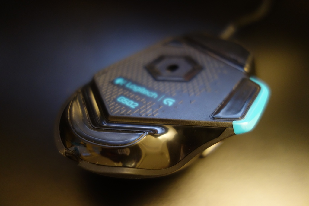 Logitech G502 Mouse - Underneath