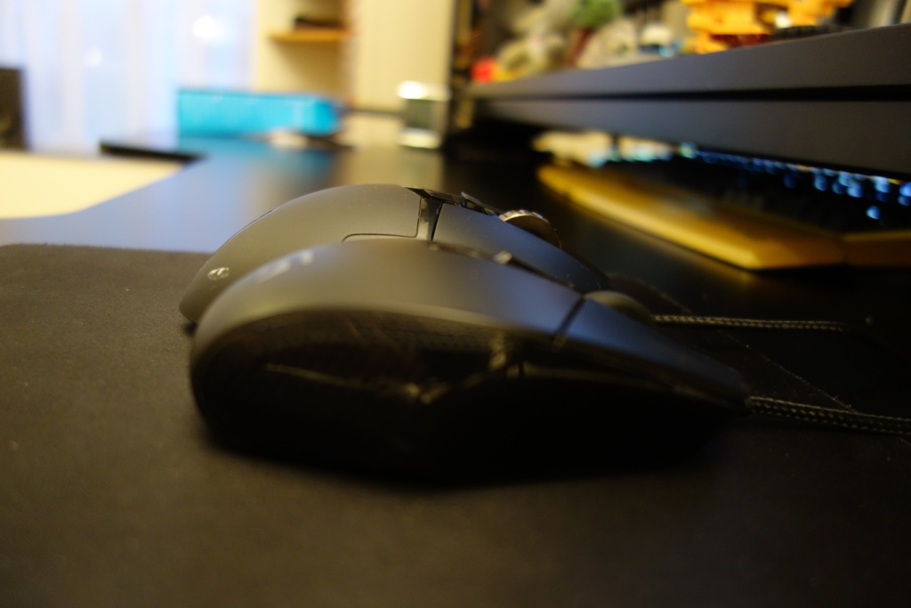 Logitech G502 Mouse - G303 comparison