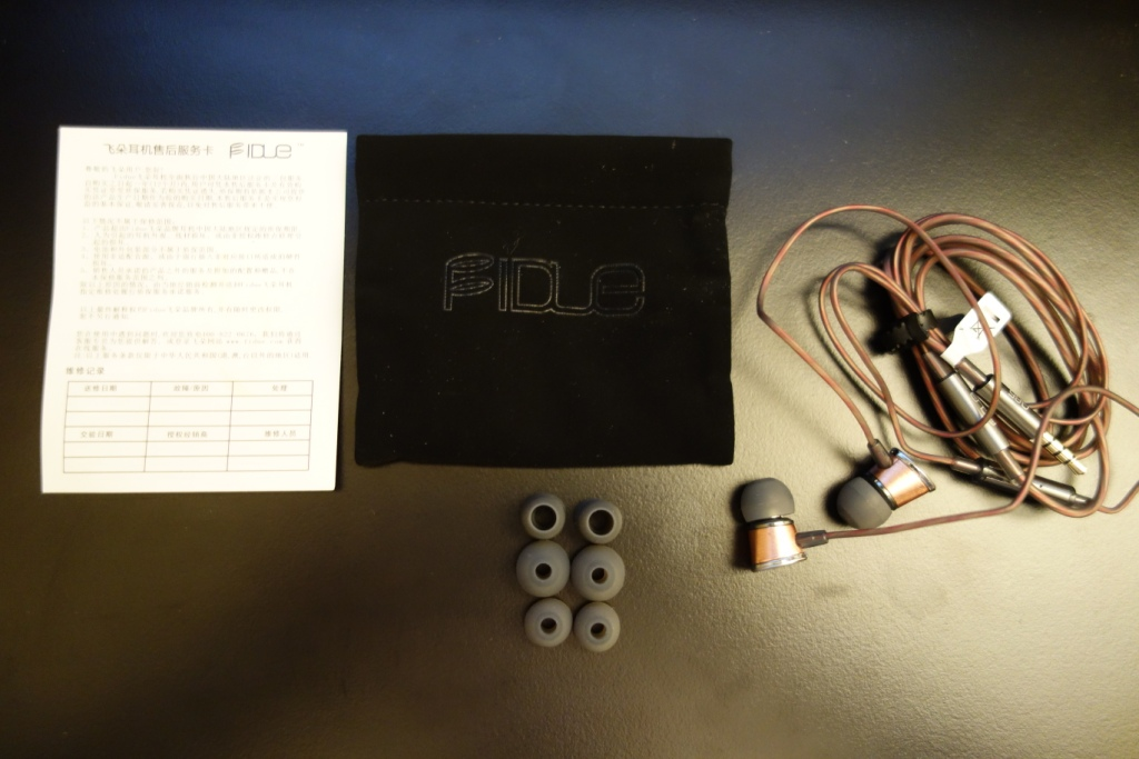 FIDUE A65 - Package Contents