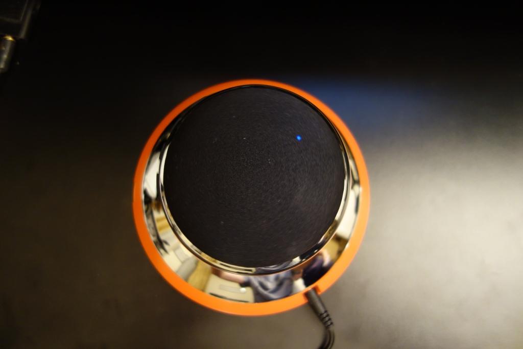 PUMP Air Levitating Bluetooth Speaker - Top view