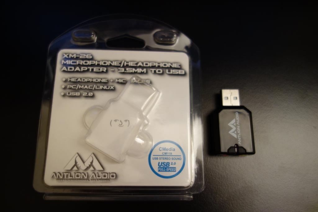 Antlion ModMic 4.0 Omni - Soundcard