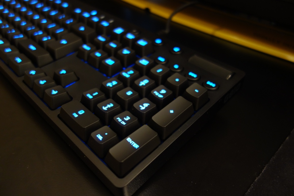 Logitech G810 Keyboard - Lights