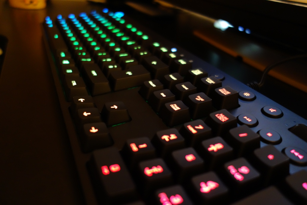 Logitech G810 Keyboard - Side RGB colours