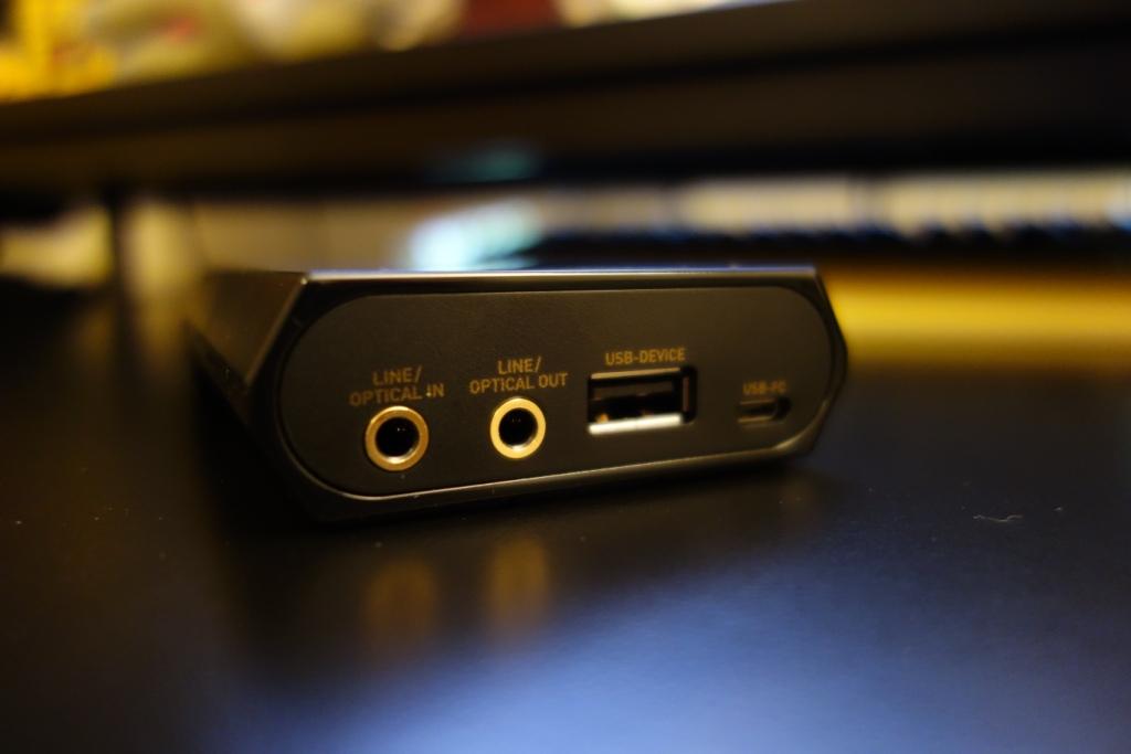 Sound BlasterX G5 - Rear