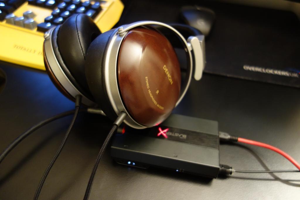 Sound BlasterX G5 - Headphones