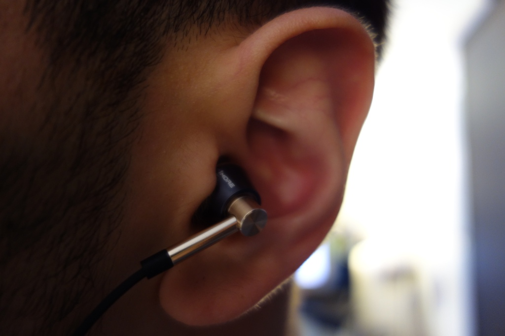 1More Triple Driver earphone review - In-ear