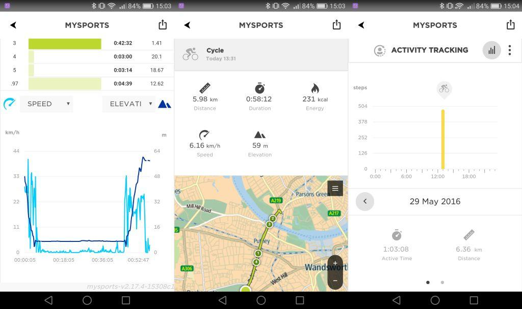 TomTom Spark Cardio + Music review - Stats