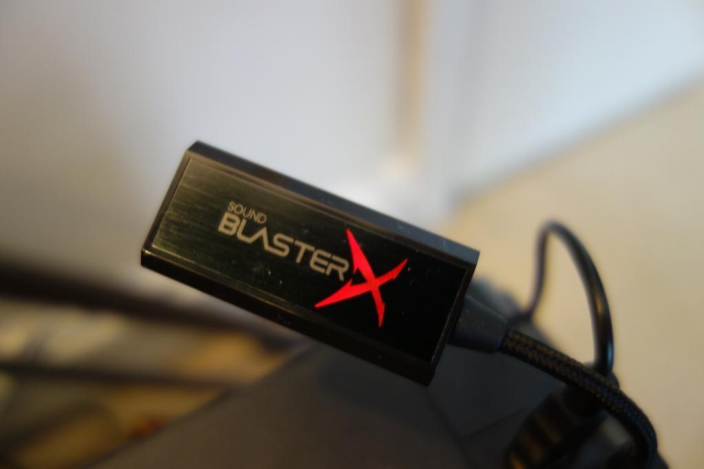 Creative Sound BlasterX G1 review - Colour