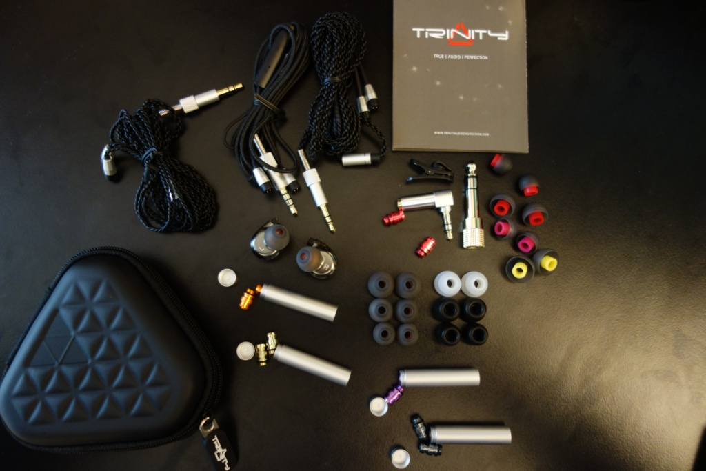 Trinity Phantom Sabre review: Package Contents