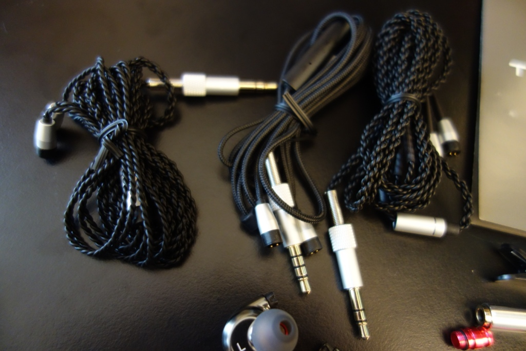 Trinity Phantom Sabre review: Cables