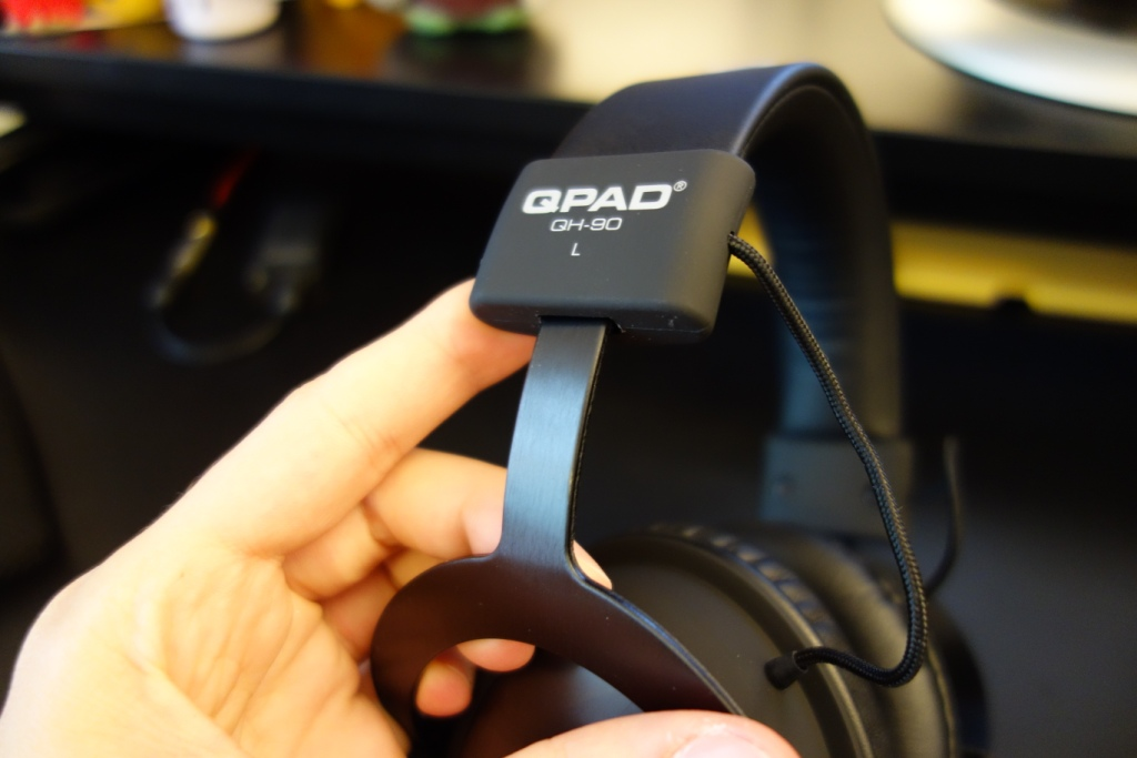 QPAD QH-90 Pro review - Headband