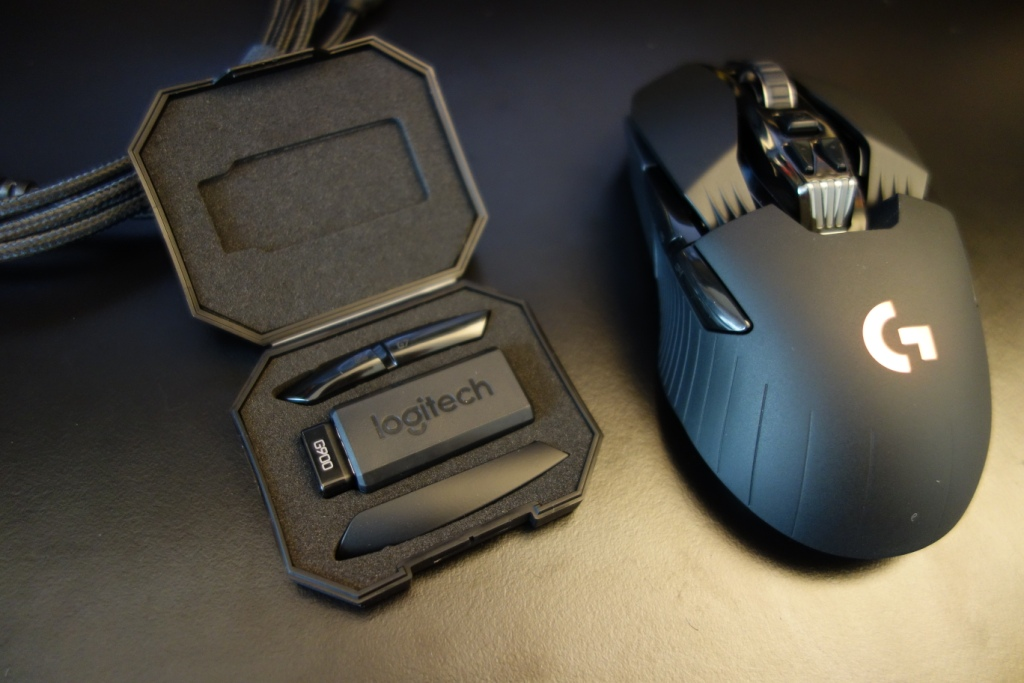 Logitech G900 Chaos Spectrum review - Box