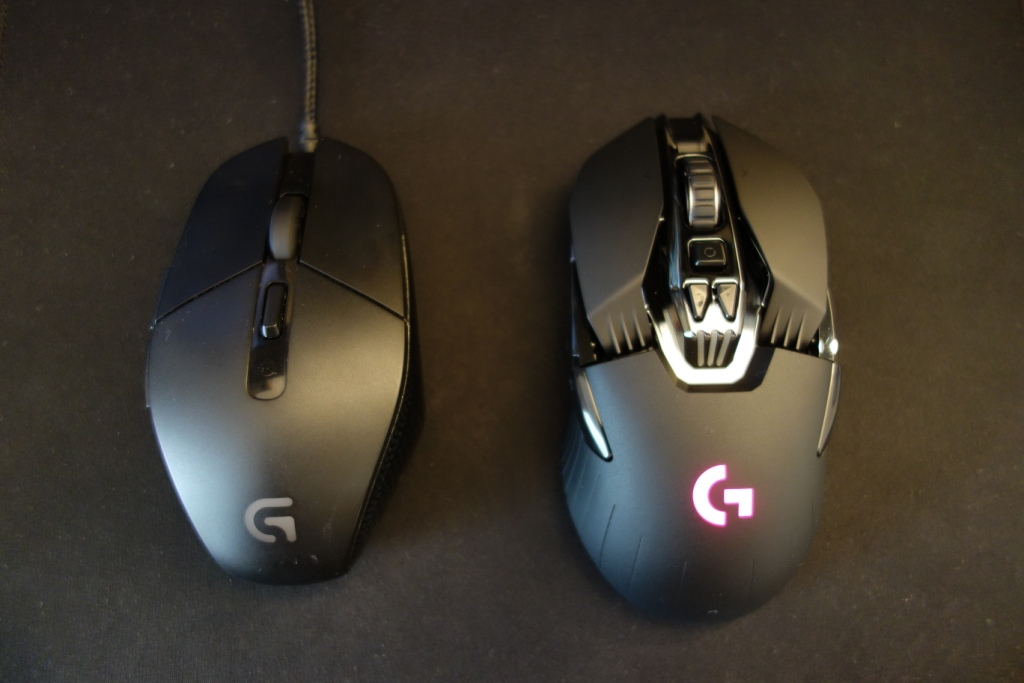 Logitech G900 Chaos Spectrum review - Comparison